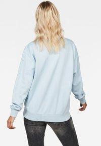 G-Star - LOOSE ROUND - Sweatshirt - laundry blue - 1