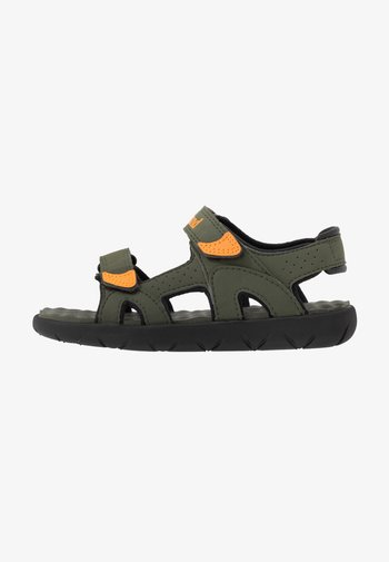 PERKINS ROW 2 STRAP - Sandals - dark green