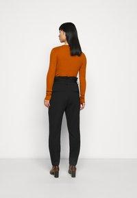 ONLY Petite - ONLPOPTRASH LIFE YO EASY - Trousers - black - 2