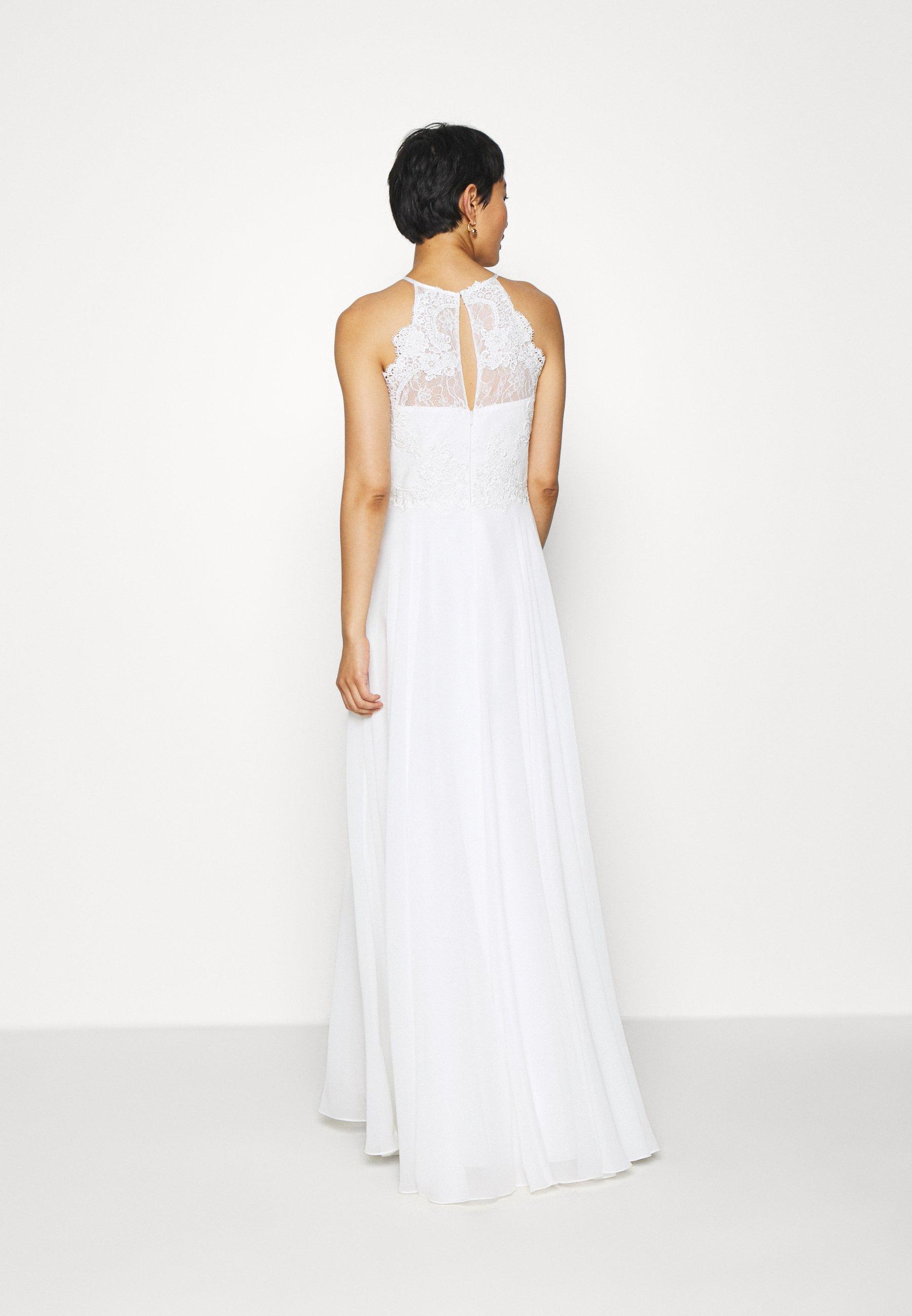 Luxuar Fashion Ballkleid offwhite/offwhite