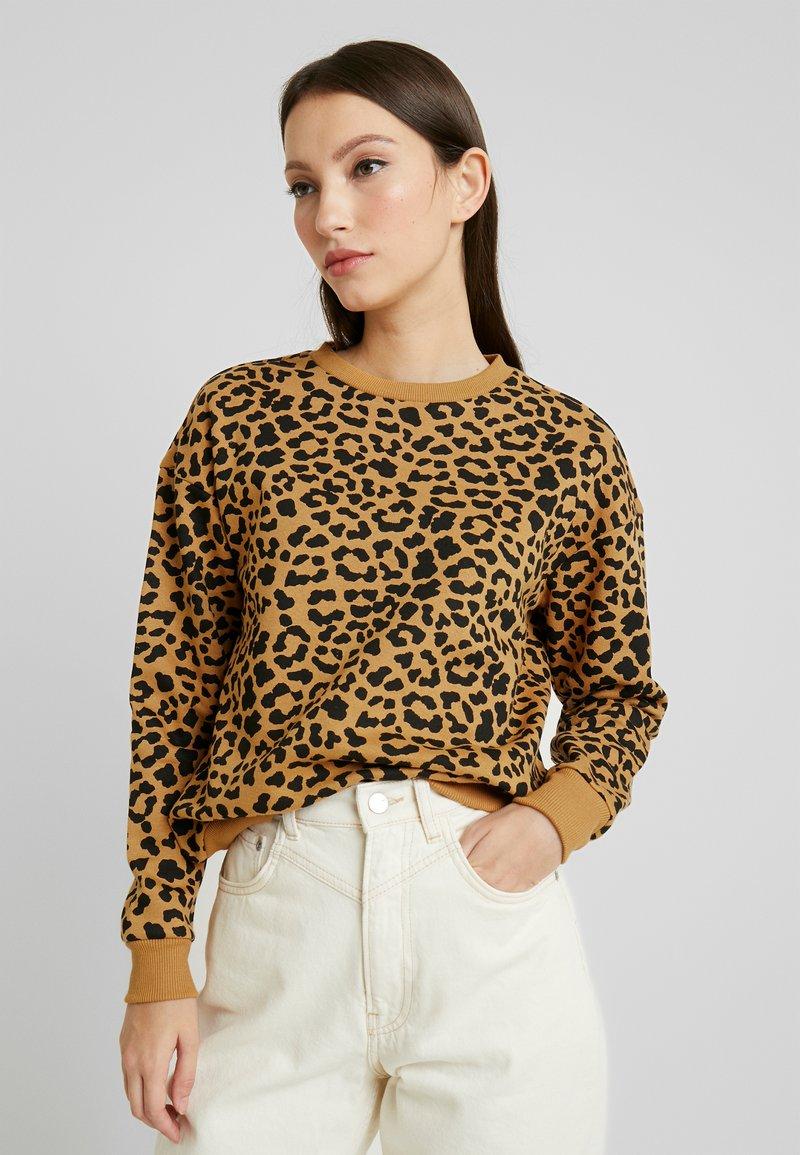 Urban Classics - LEO - Sweatshirt - beige