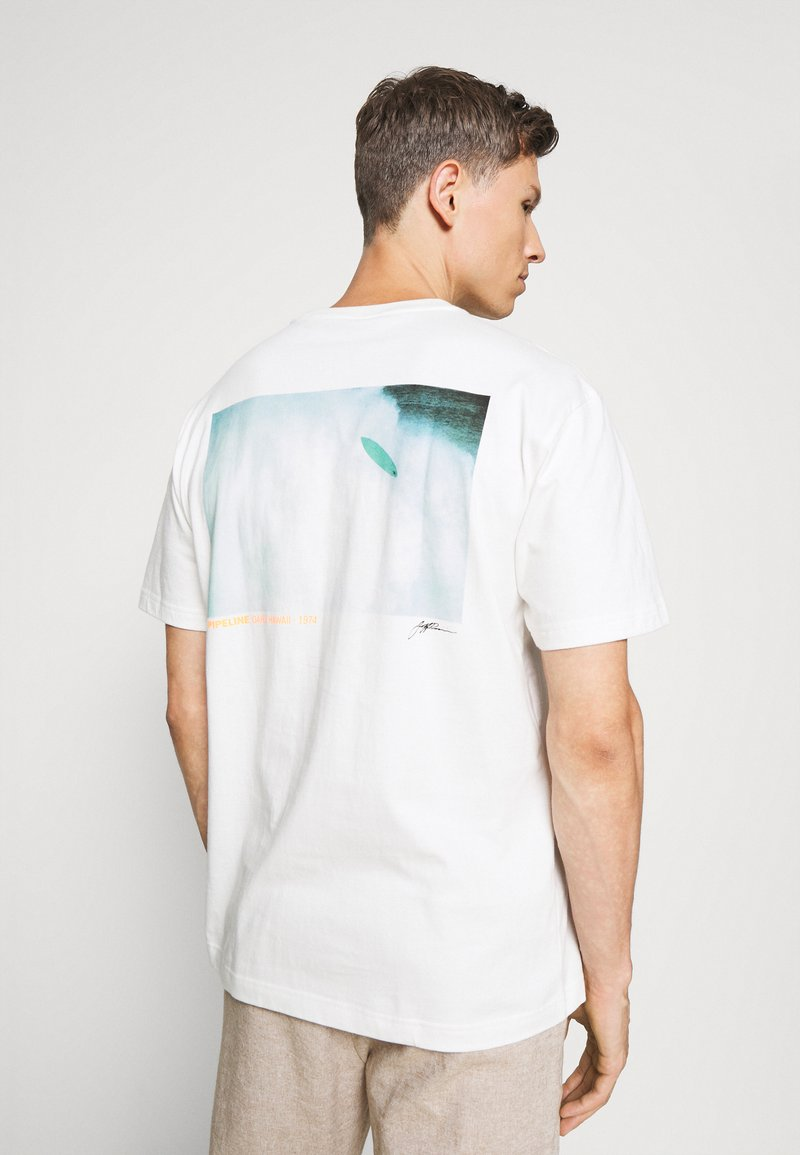 GAP - SURF GRAPH  - Print T-shirt - porcelain