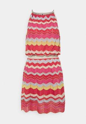 ABITO SENZA MANICHE - Jumper dress - multi-coloured