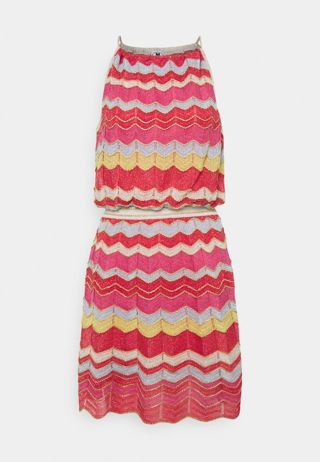 ABITO SENZA MANICHE - Jumper dress - multi-coloured