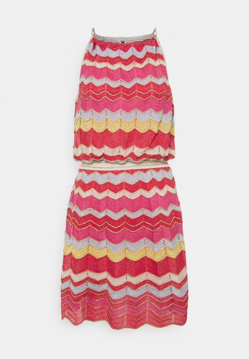 M Missoni - ABITO SENZA MANICHE - Jumper dress - multi-coloured