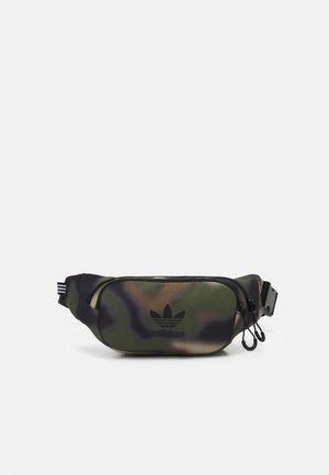 CAMO WAISTBAG UNISEX - Bum bag - hemp/wild pine/black