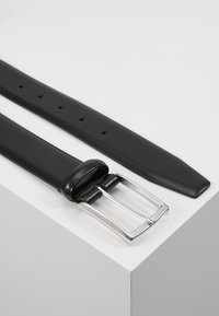Anderson's - SHINY SMOOTH BELT - Pásek - black - 2