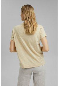 Esprit - PER COO CLOUDY - Basic T-shirt - sand - 3