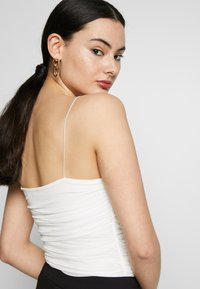 Nly by Nelly - THIN STRAP - Top - white - 3