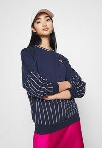 Fila - HELAINE CREW NECK  - Sweatshirt - black iris - 3