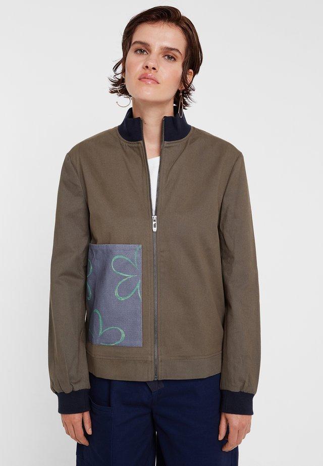 CHAQ FLAVIA - Fleece jacket - green