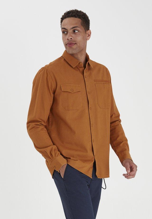 Overhemd - sudan brown