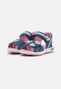 Superfit - EMILY - Sandals - blau/rosa - 1