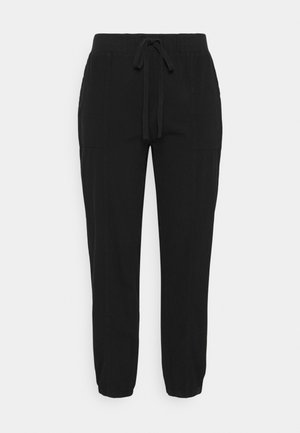 KCNANA PANTS  - Kangashousut - black deep