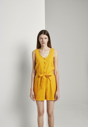 SHORTALL - Jumpsuit - orange yellow
