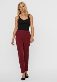 Vero Moda - Trousers - cabernet - 1