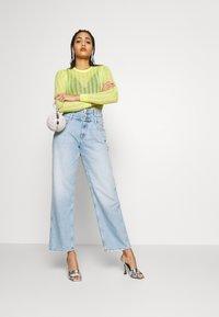 Pepe Jeans - DUA LIPA x PEPE JEANS - Flared Jeans - light-blue denim - 1