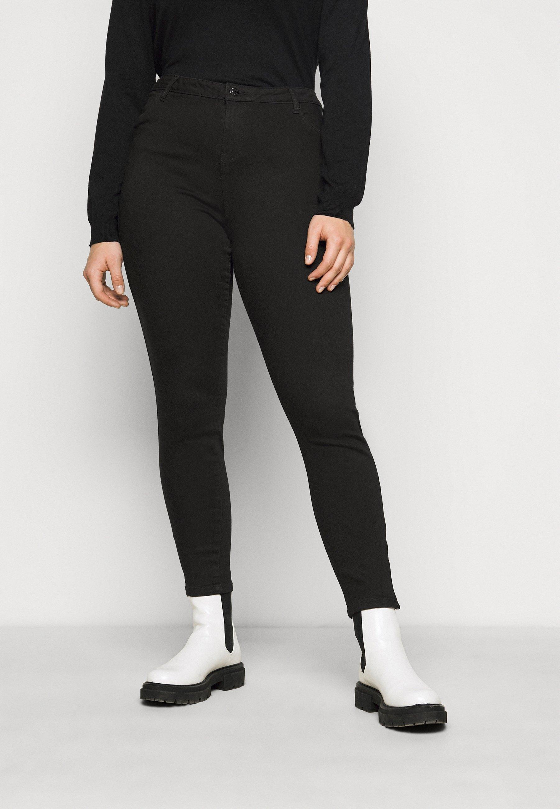 Women VMTILDE ANKLE ZIP - Jeans Tapered Fit