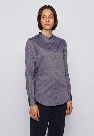 C_BEFELIZE_18 - Button-down blouse - open blue