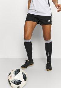 adidas Performance - SQUADRA - Träningsshorts - black/white - 3