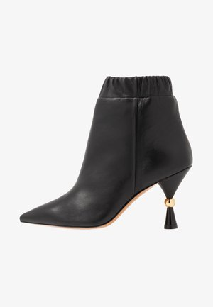 ANSELMO - High heeled ankle boots - black
