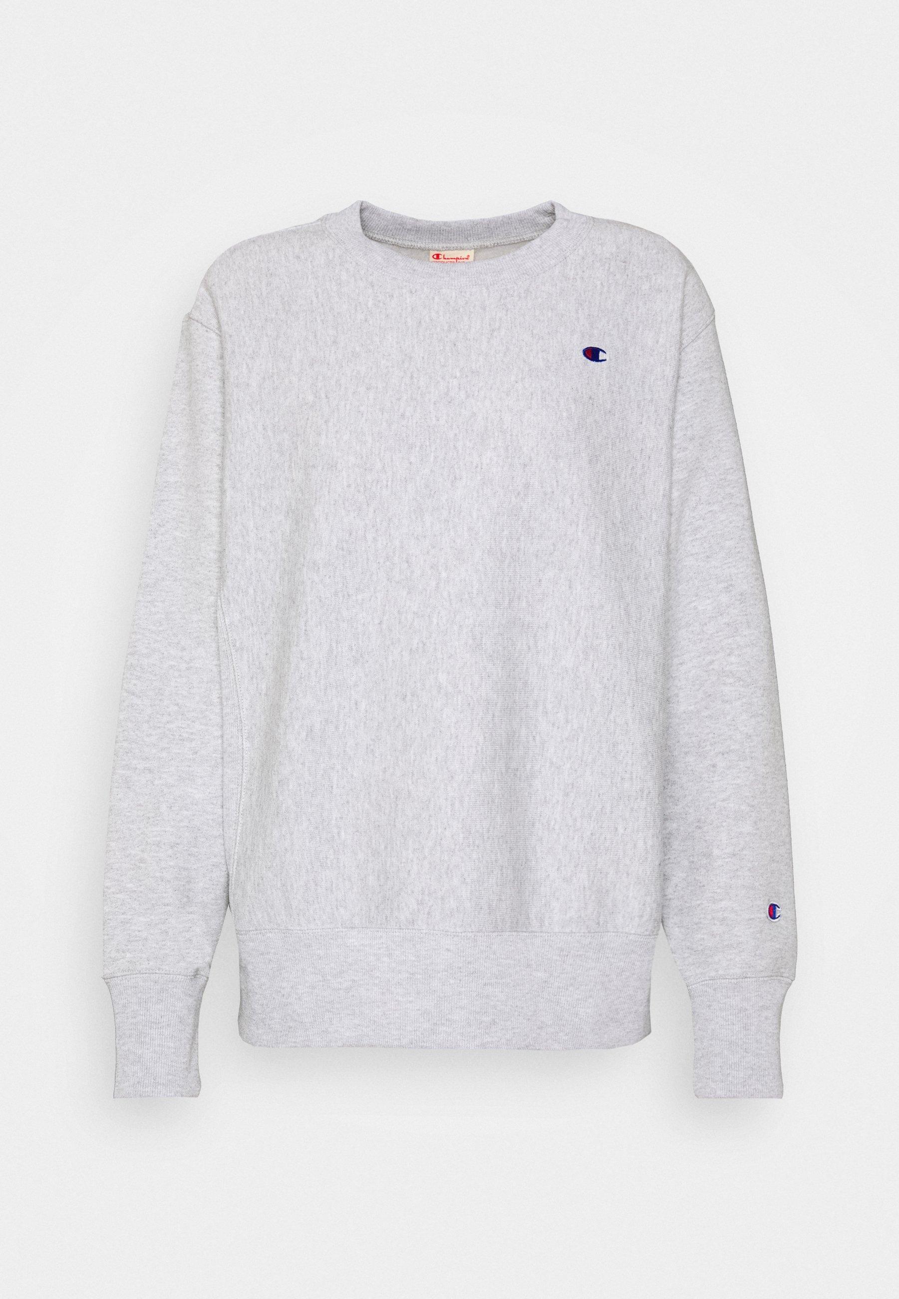 Champion Reverse Weave CREWNECK Sweatshirt greygrau
