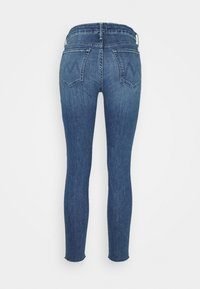 Mother - LOOKER ANKLE FRAY - Skinny džíny - blue denim - 1