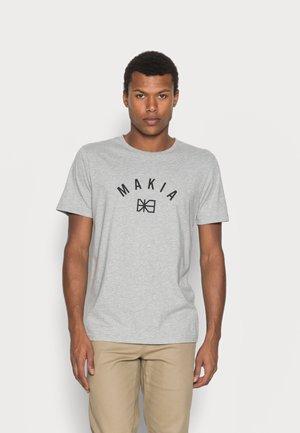 BRAND - T-shirt print - grey