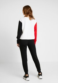Nike Sportswear - TIGHT - Pantaloni sportivi - black/white - 2