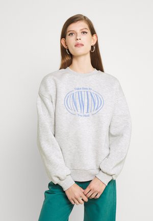 RILEY SWEATER - Sweatshirt - light grey melange