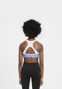 Nike Performance - Sports bra - royal pulse/white/white - 5