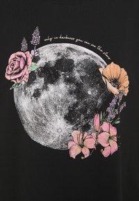 Even&Odd - T-shirt imprimé - black - 2