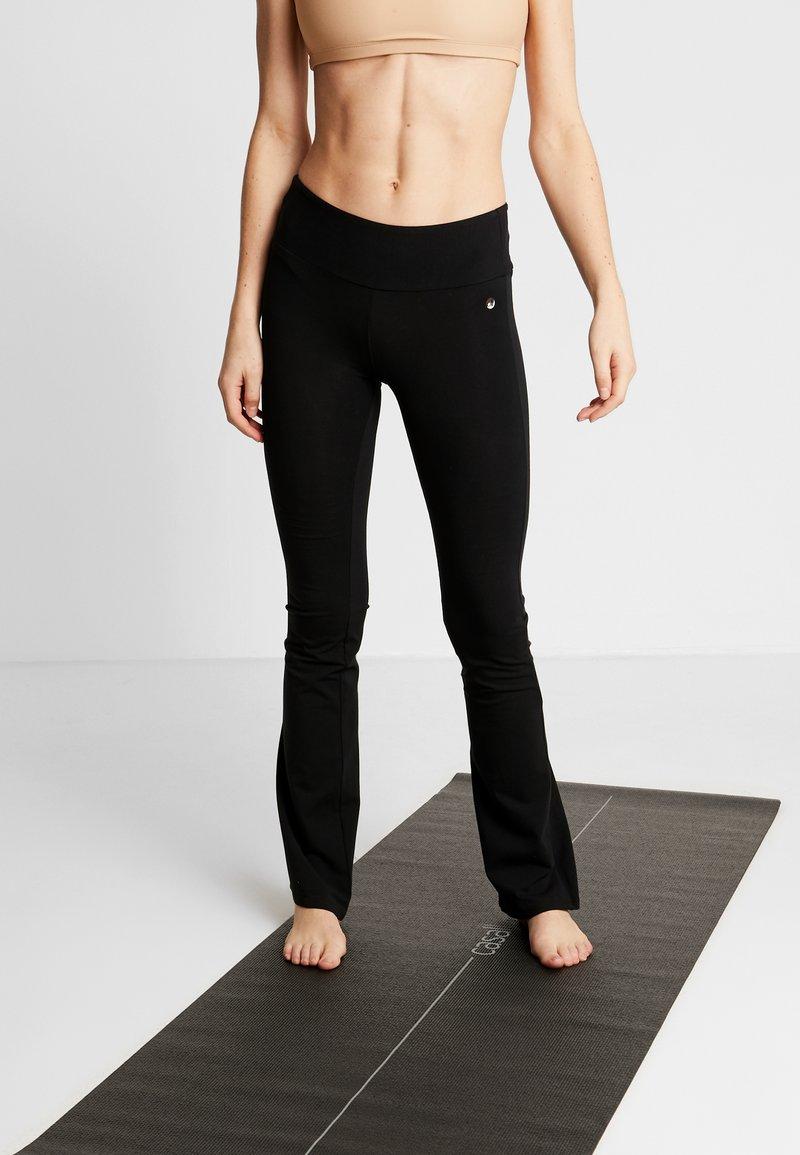 Deha - PANTA JAZZ - Teplákové kalhoty - black