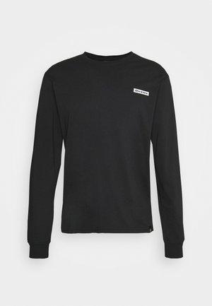BOX - T-shirt à manches longues - black