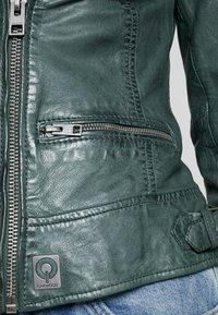 Oakwood - Leather jacket - bronze - 5
