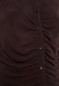 Gina Tricot - DOLLY DRESS - Jerseyklänning - coffee bean - 6