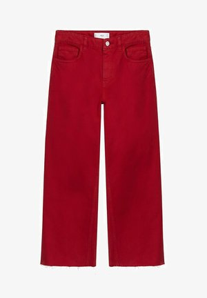 BERRY-H - Jeans a sigaretta - rood