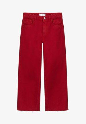 BERRY-H - Džíny Straight Fit - rood
