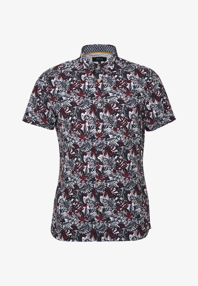 AMBLESIDE HENNA JUNGLE PRINT - Shirt - navy
