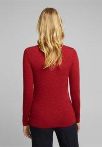 Esprit Collection - Jumper - dark red - 2