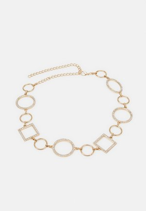 PCNIPPA WAIST CHAIN BELT - Waist belt - gold-coloured