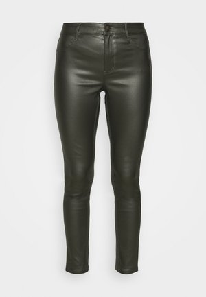 COATED FRANKIE - Trousers - khaki