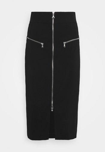GONNA SKIRT - Pencil skirt - nero