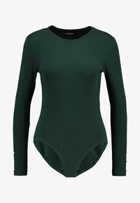 Even&Odd - BASIC BODYSUIT - Topper langermet - olive night - 3
