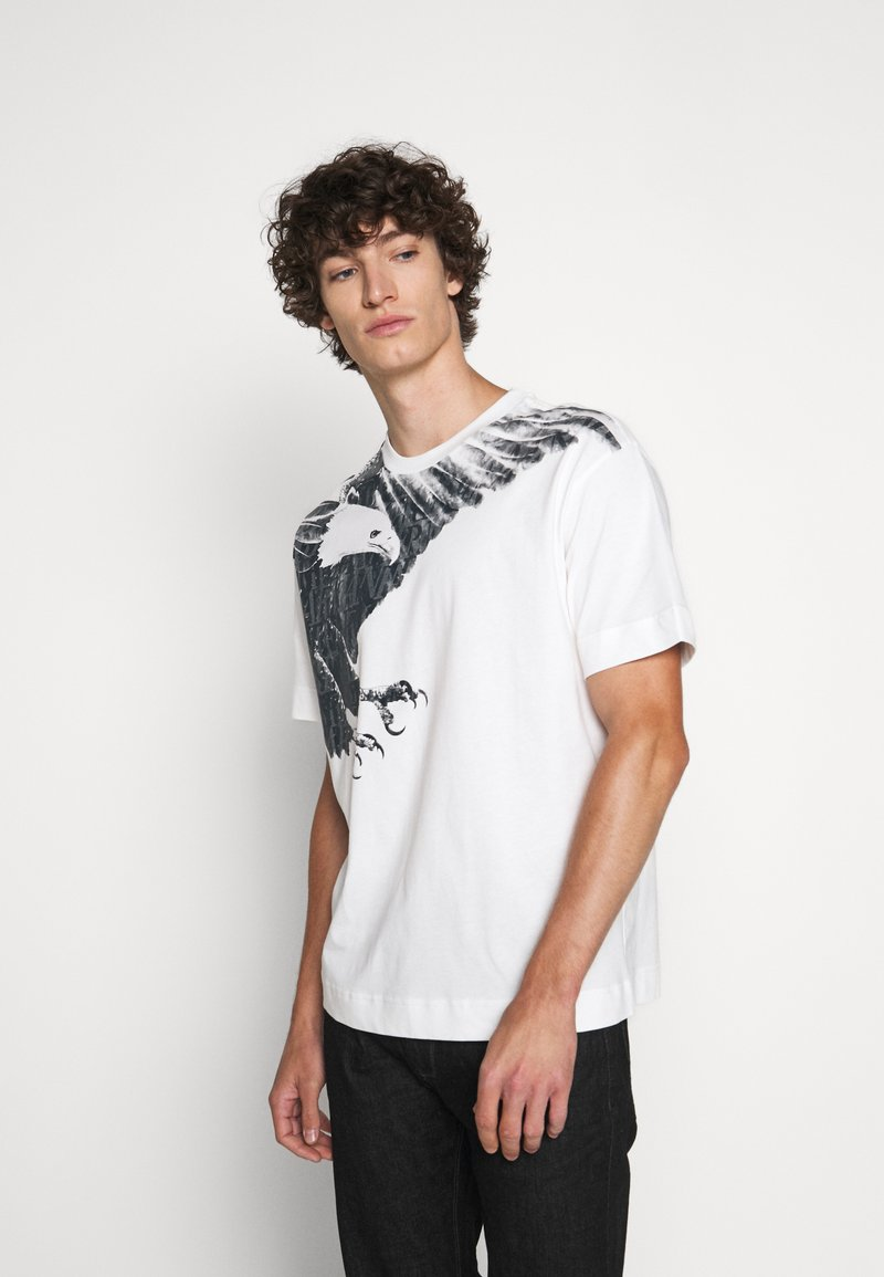 Emporio Armani - T-shirt imprimé - white