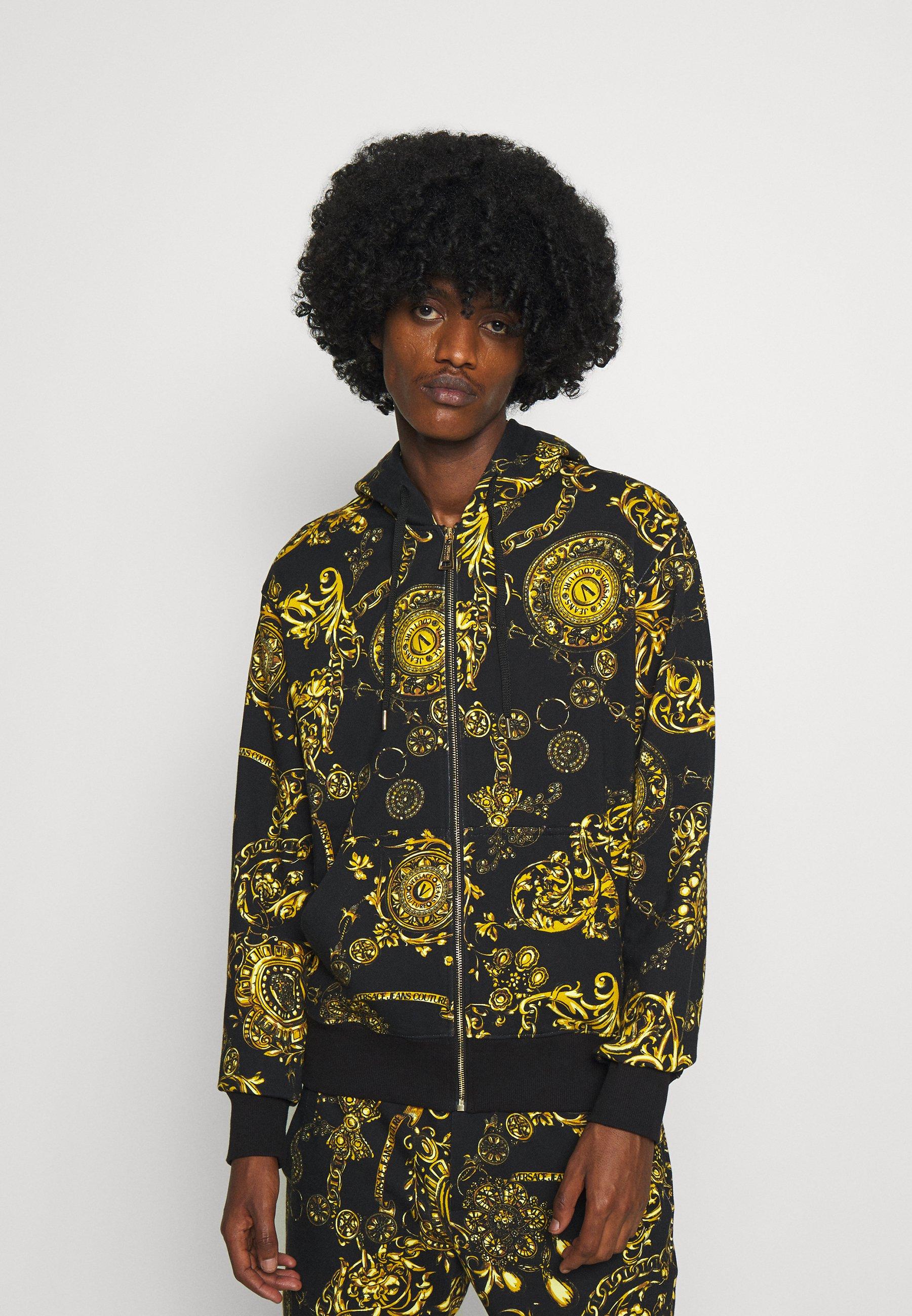 Men BRUSHED PRINT REGALIA BAROQUE - Zip-up sweatshirt
