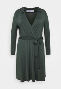 Anna Field Curvy - Jersey dress - dark green - 4
