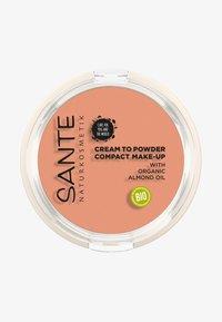 Sante - COMPACT MAKE-UP CREAM TO POWDER - Foundation - 02 warm meadow - 0