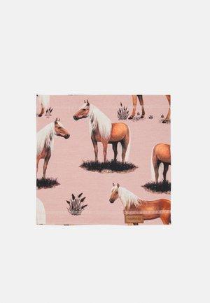 LOOP BEAUTY HORSES UNISEX - Kruhová šála - pink