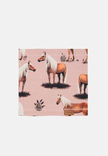 LOOP BEAUTY HORSES UNISEX - Snood - pink